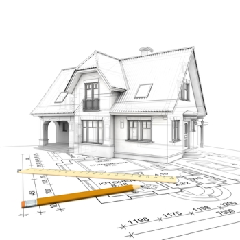 custom home plans - Home Plan Sketch